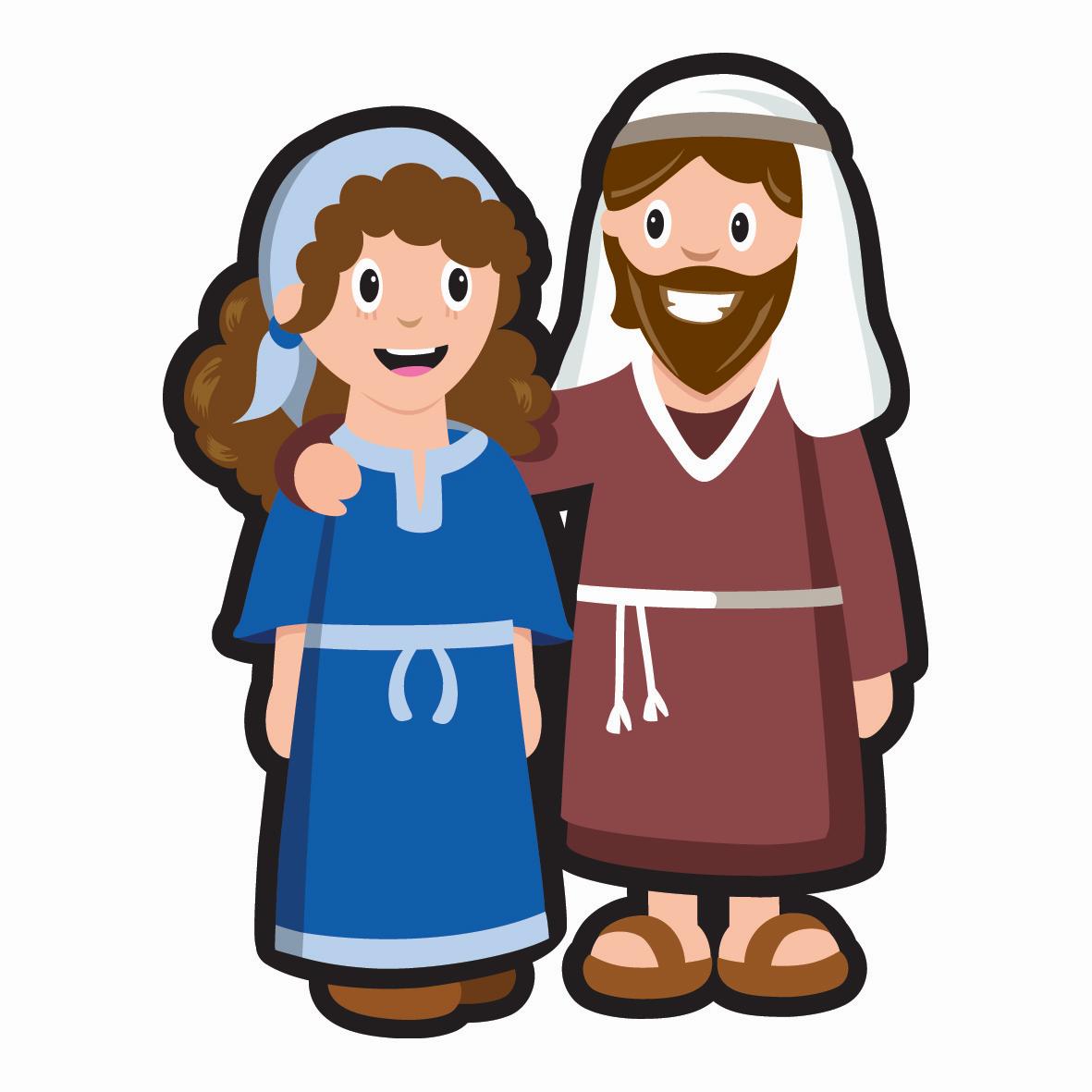 mary joseph lootro rh lootrogames com free clipart mary and joseph mary joseph and baby jesus clipart